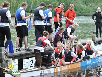 Dragonboat-Cup am 20. Mai